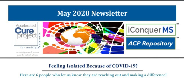 MS.Y.A.N.A. featured in Accelerated Cure Project newsletter
