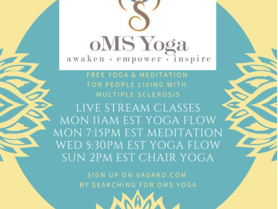oMS Yoga offers 4 classes each week.