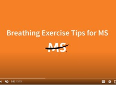 MS society breathing exercise tips