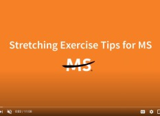 MS society stretchering exercise tips