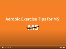 MS society aerobic exercise tips